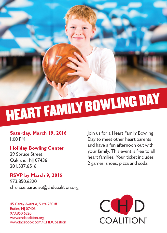 Heart Family Bowling Day