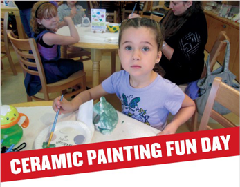 Ceramic Painting Fun Day