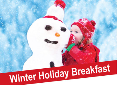 Winter Holiday Breakfast