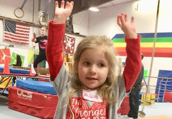 Feb 8th <br/></noscript>Heart Family Party at Elite Gymnastics